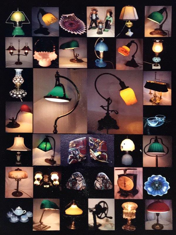 アンティークの灯り展示即売会